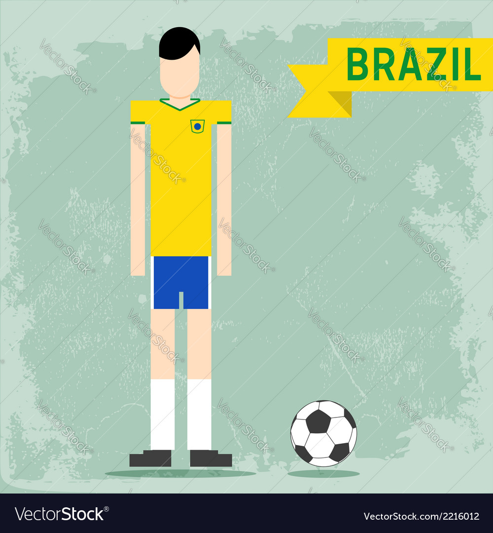 Brazil uniform vector | Price: 1 Credit (USD $1)