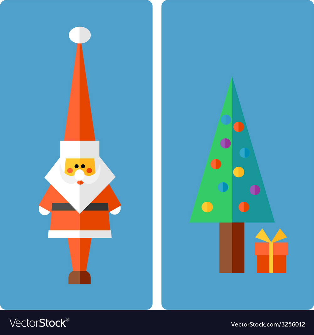 Christmas and new year greeting vector | Price: 1 Credit (USD $1)