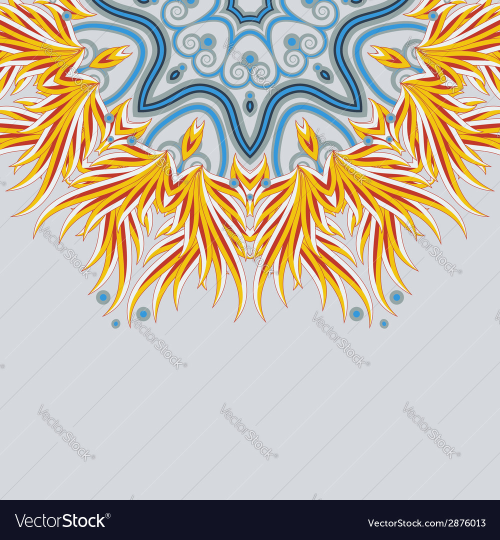Part of a bright mandala ornament with place for vector | Price: 1 Credit (USD $1)
