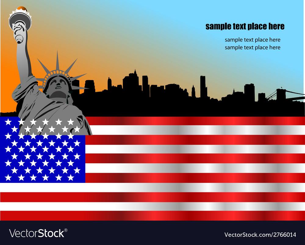 Al 0740 flag 03 vector | Price: 1 Credit (USD $1)
