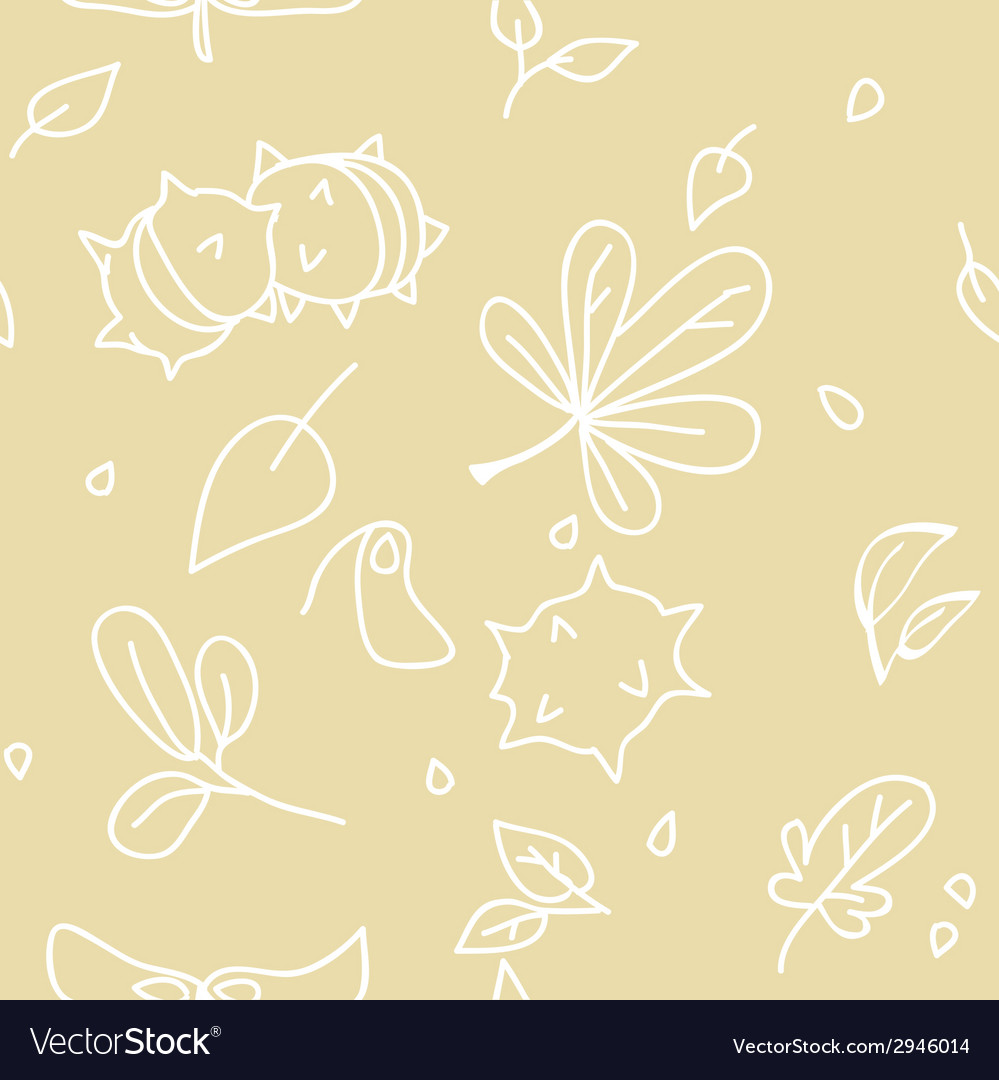 Autumn pattern 3 vector | Price: 1 Credit (USD $1)