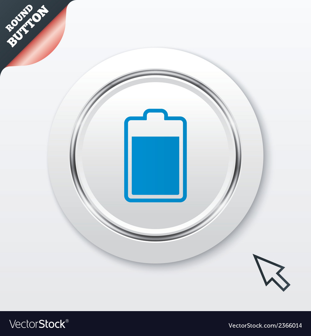 Battery level sign icon electricity symbol vector   Price: 1 Credit (USD $1)