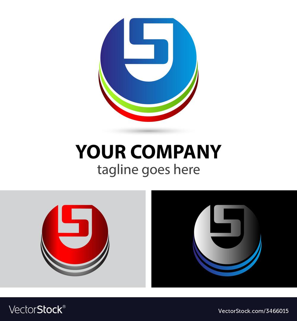 Elegant alphabet symbol logo letter s vector | Price: 1 Credit (USD $1)