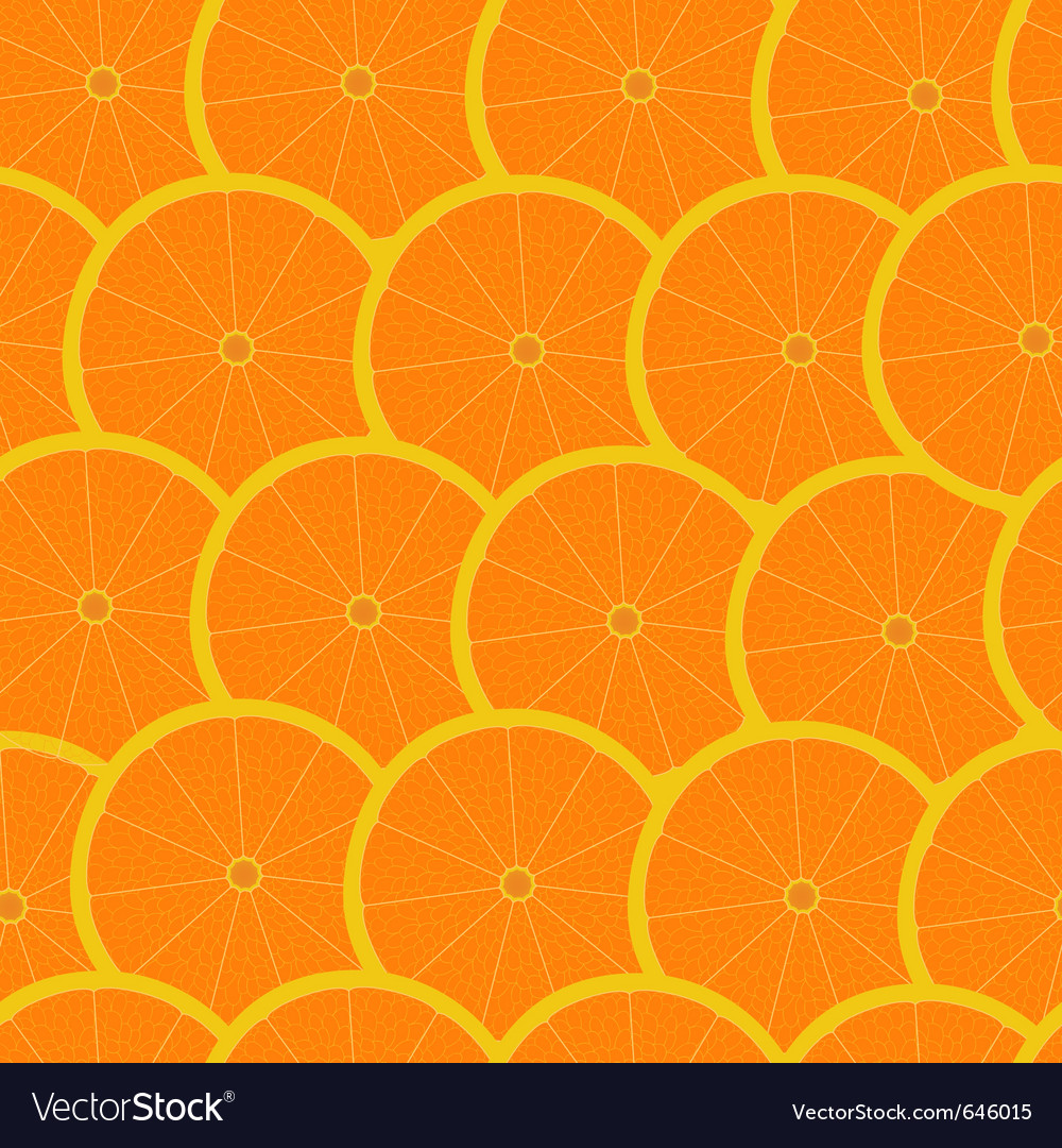 Grapefruit seamless background wallpaper vector | Price: 1 Credit (USD $1)