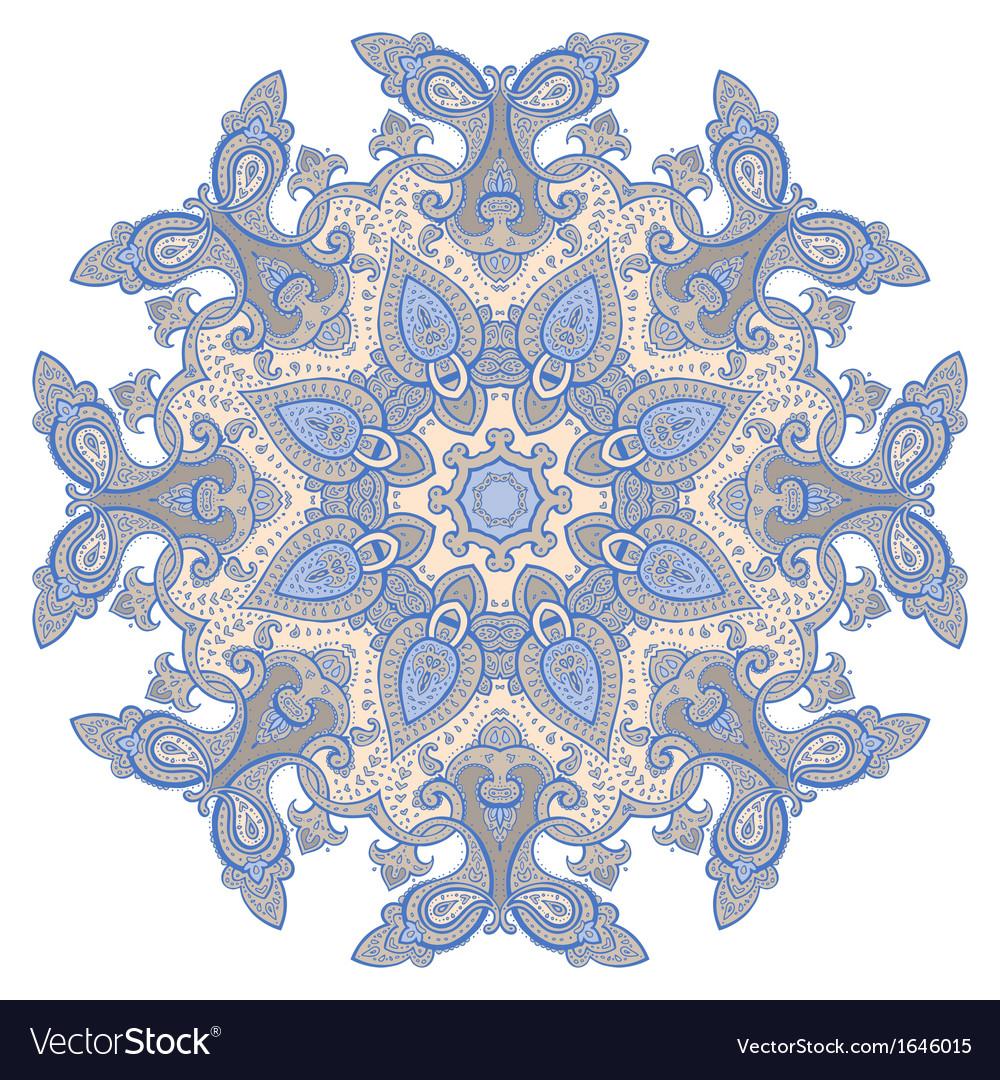 Mandala decorative pattern vector | Price: 1 Credit (USD $1)