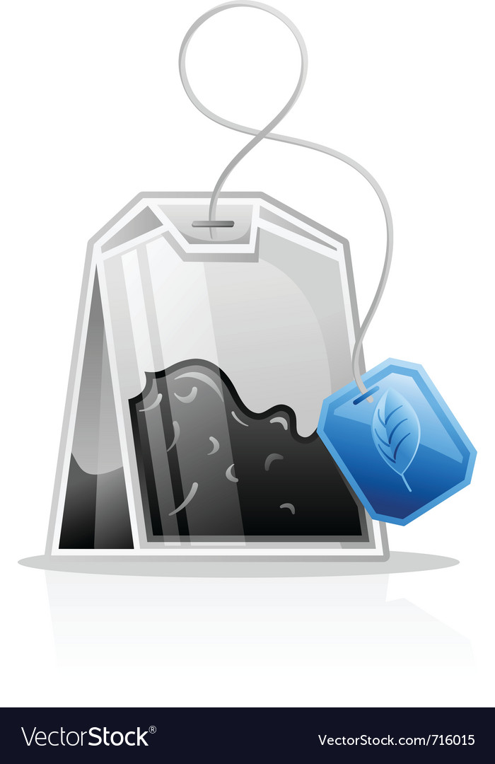 Tea bag vector | Price: 3 Credit (USD $3)
