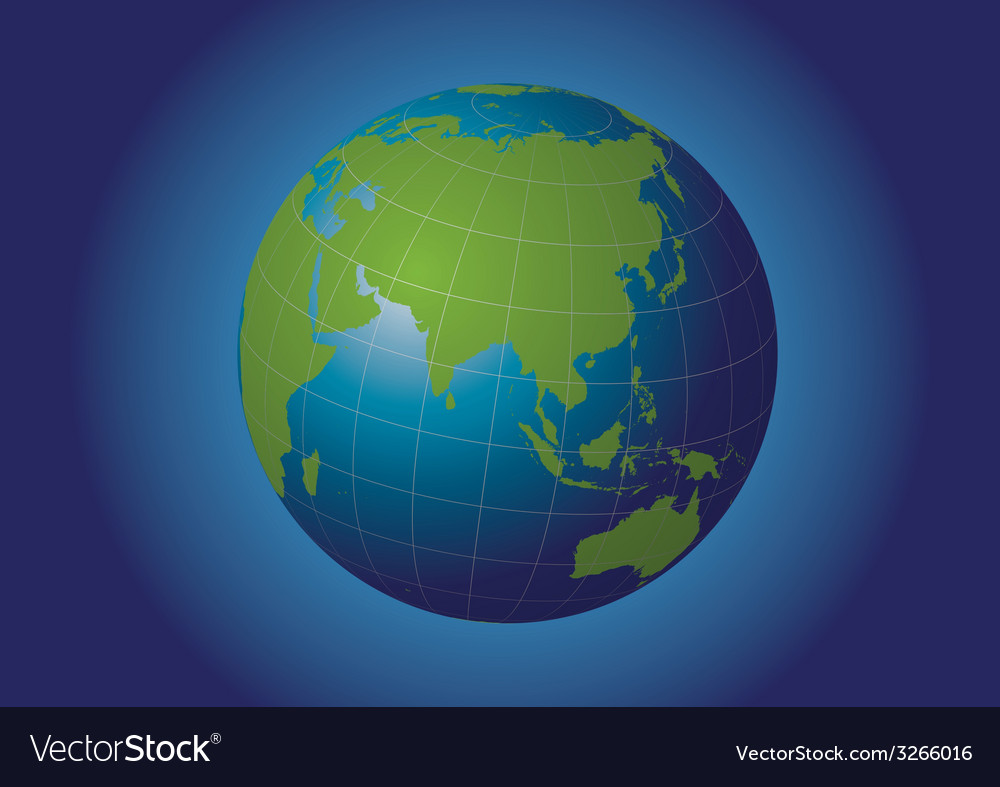 Asia vector | Price: 1 Credit (USD $1)