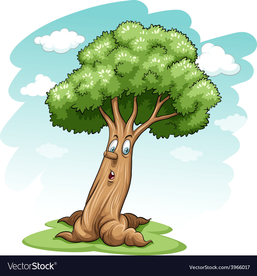 A big tree vector | Price: 1 Credit (USD $1)