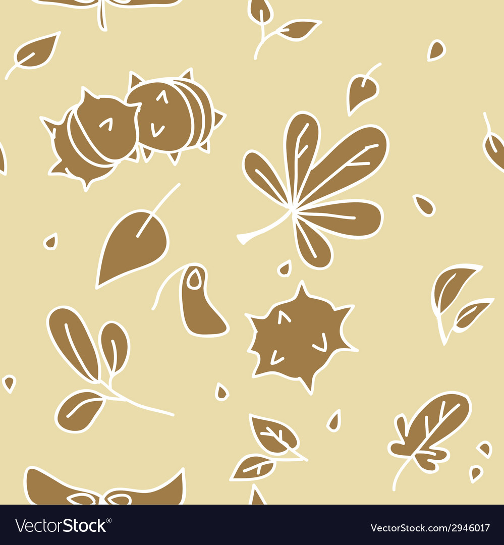 Autumn pattern 2 vector | Price: 1 Credit (USD $1)