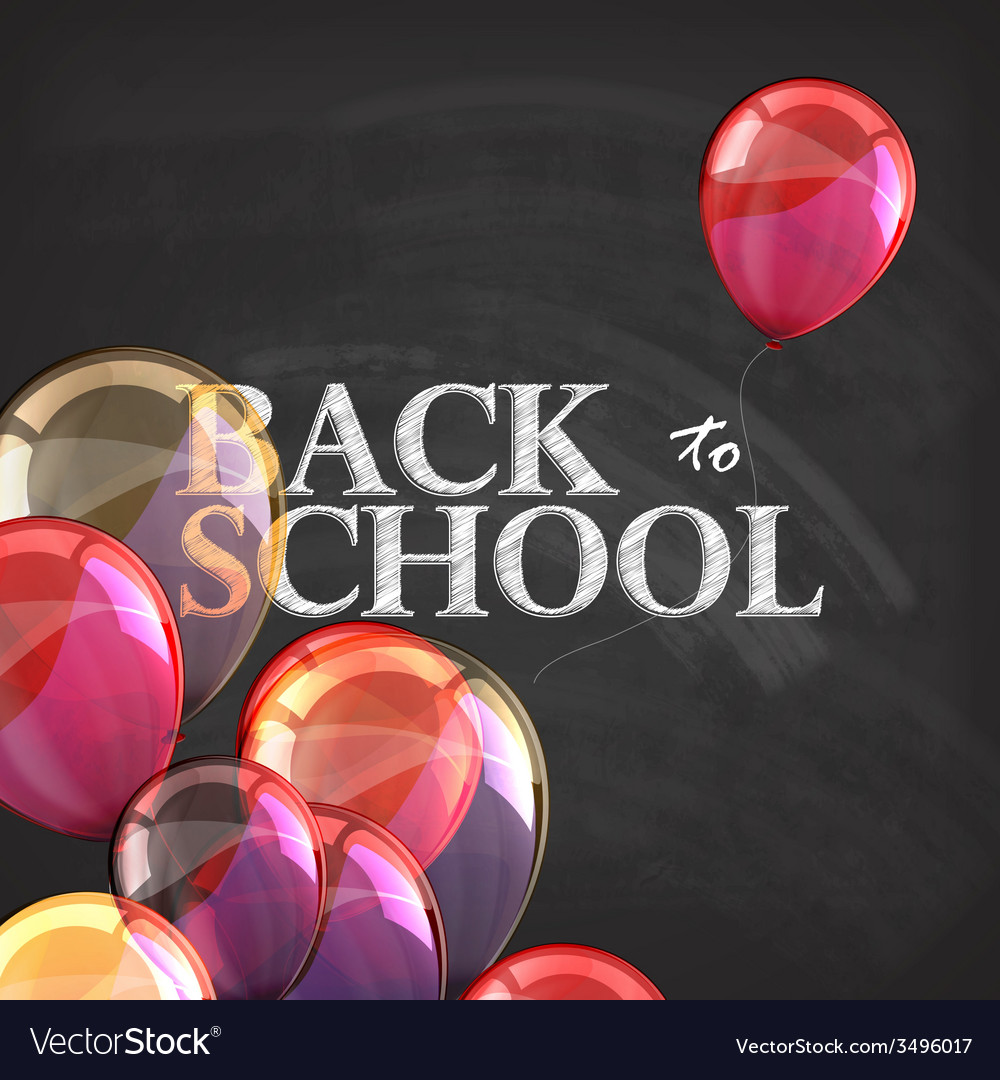 Back to school educational with blackboard texture vector | Price: 1 Credit (USD $1)