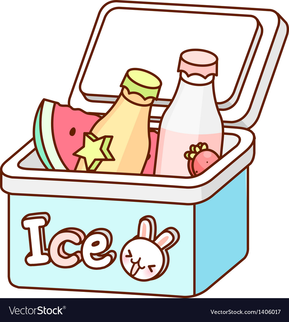 The bottles in an ice box vector   Price: 1 Credit (USD $1)