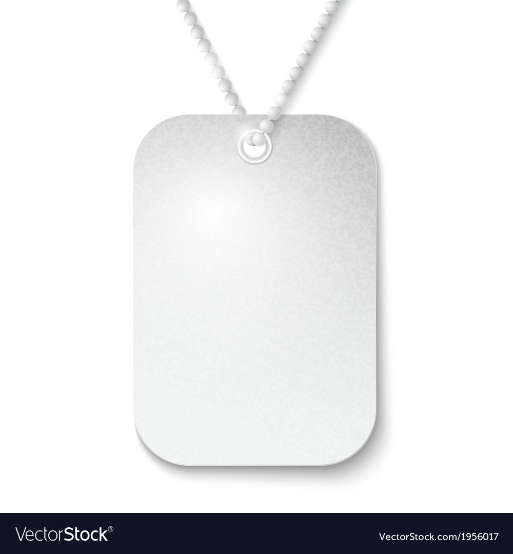 Identity tag vector | Price: 1 Credit (USD $1)