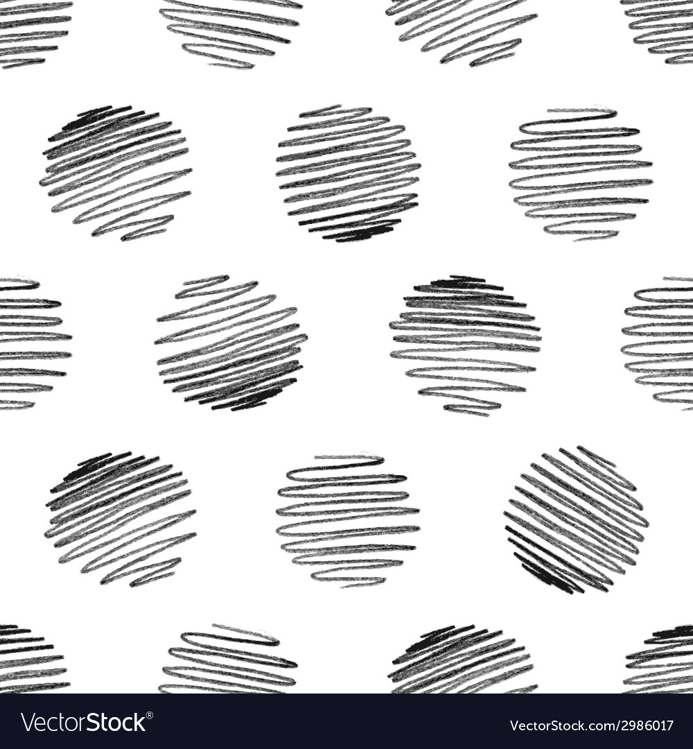 Seamless pattern of pencil strokes on white vector | Price: 1 Credit (USD $1)