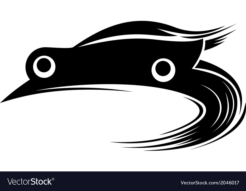 Sport racing car vector | Price: 1 Credit (USD $1)