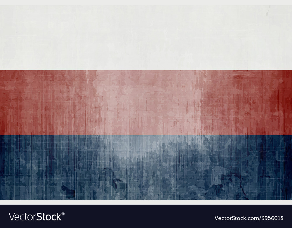 Grunge flag of russian federation vector | Price: 1 Credit (USD $1)