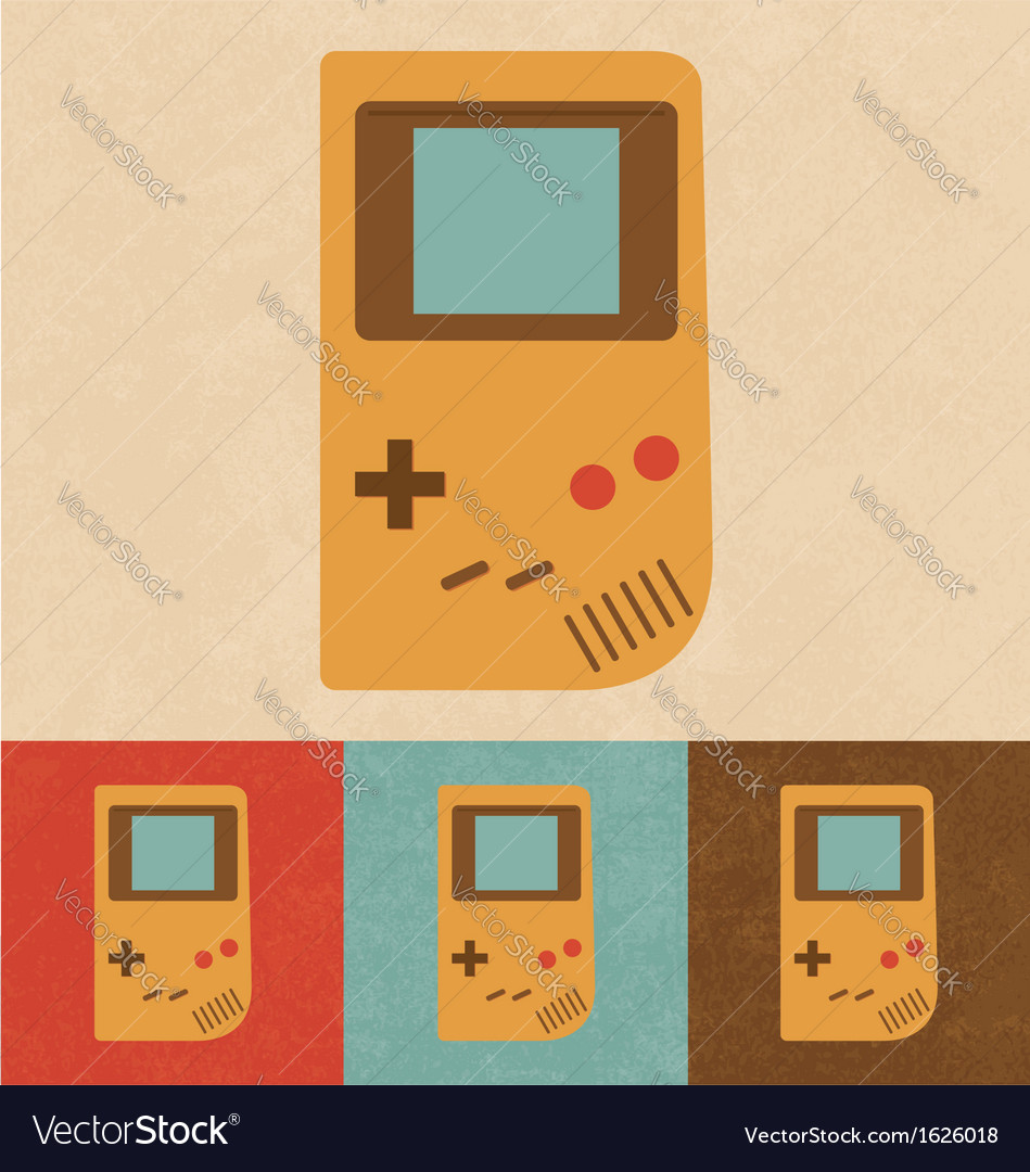 Retro gadget vector | Price: 1 Credit (USD $1)
