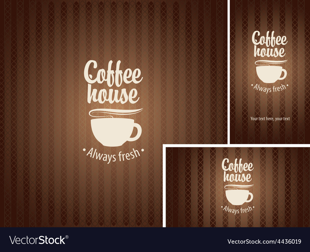 Coffee house vector | Price: 3 Credit (USD $3)
