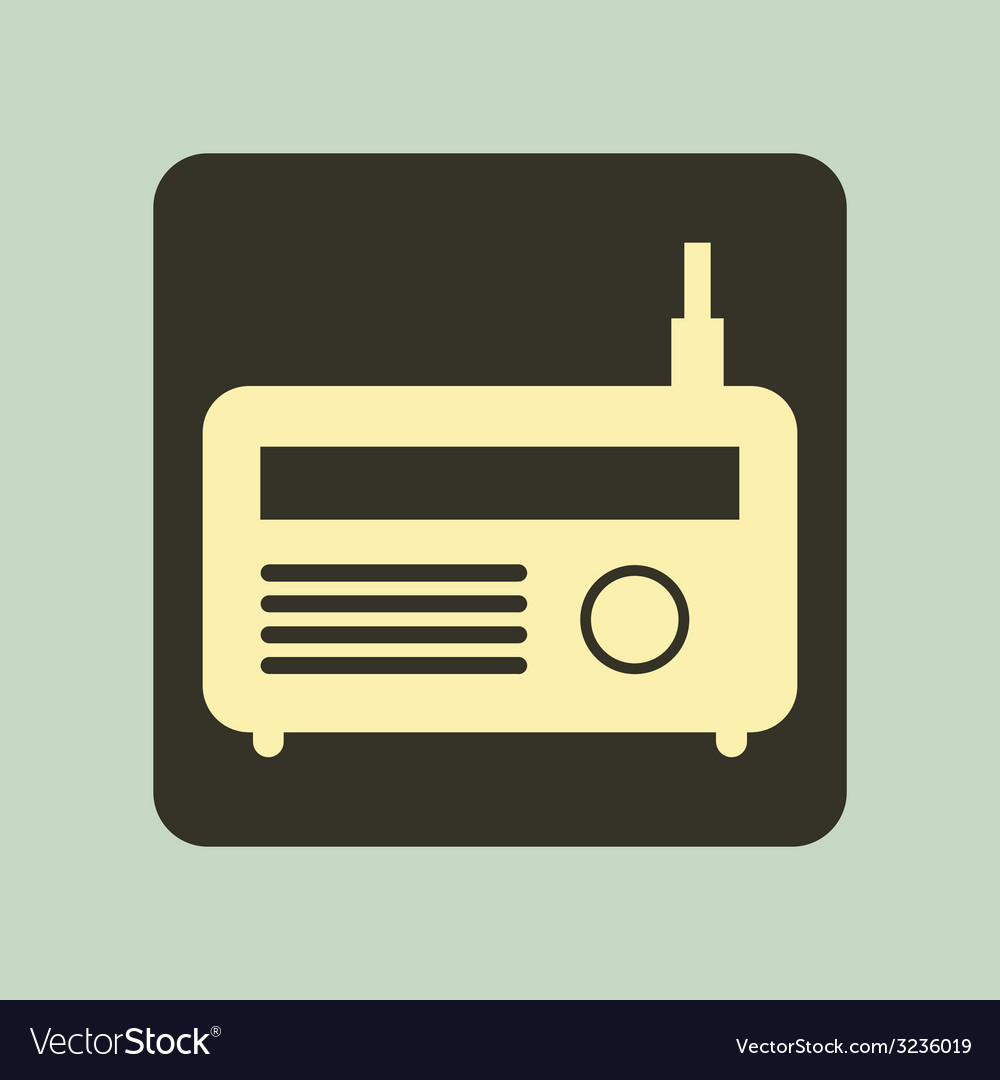 Radio design vector | Price: 1 Credit (USD $1)