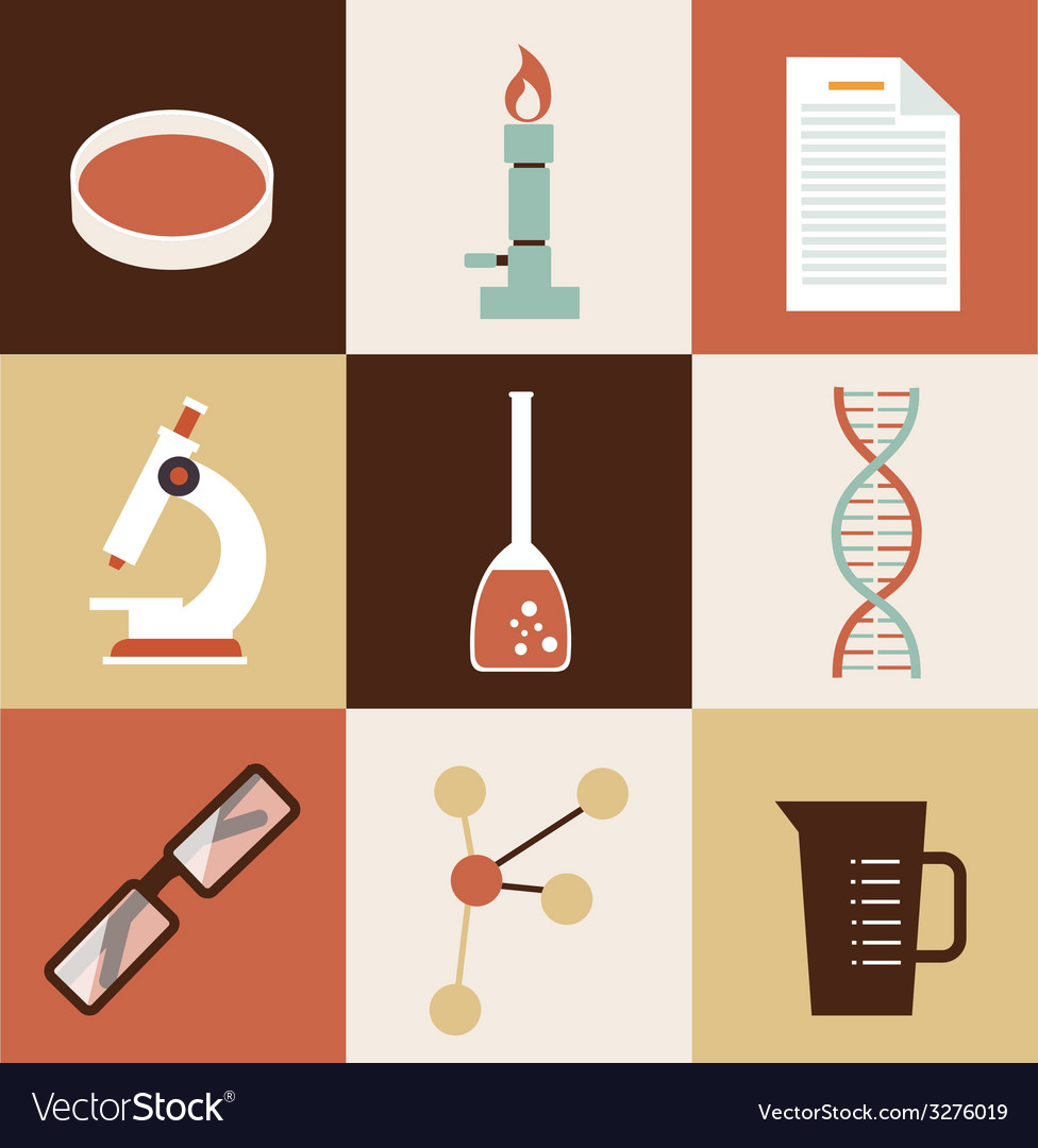 Scientist chemist vector | Price: 1 Credit (USD $1)