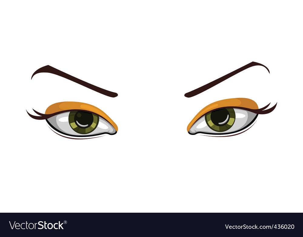 beautiful eyes vector | Price: 1 Credit (USD $1)