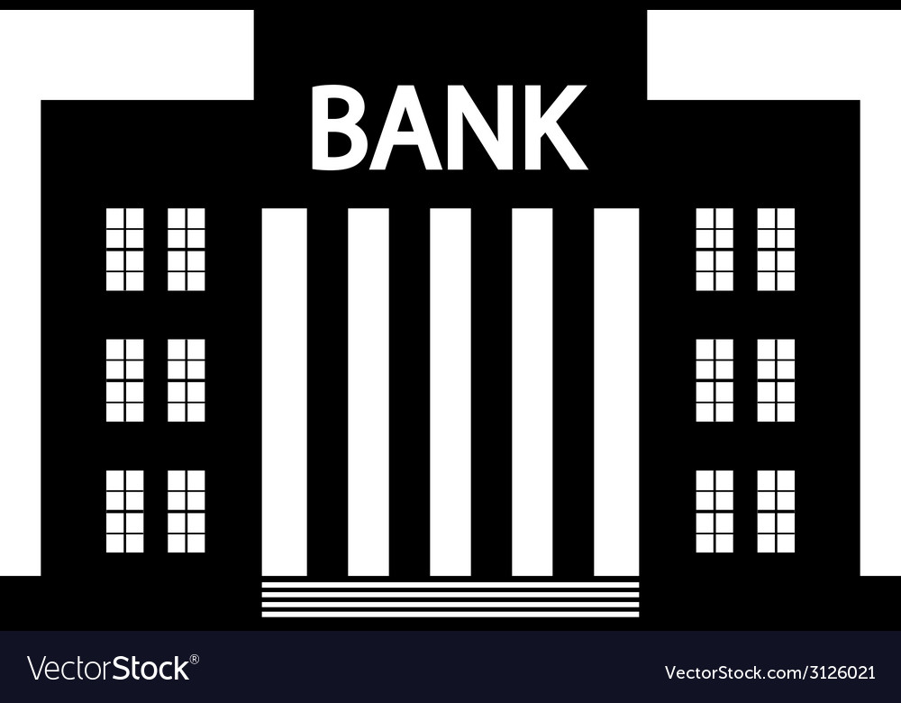 Bank icon vector | Price: 1 Credit (USD $1)