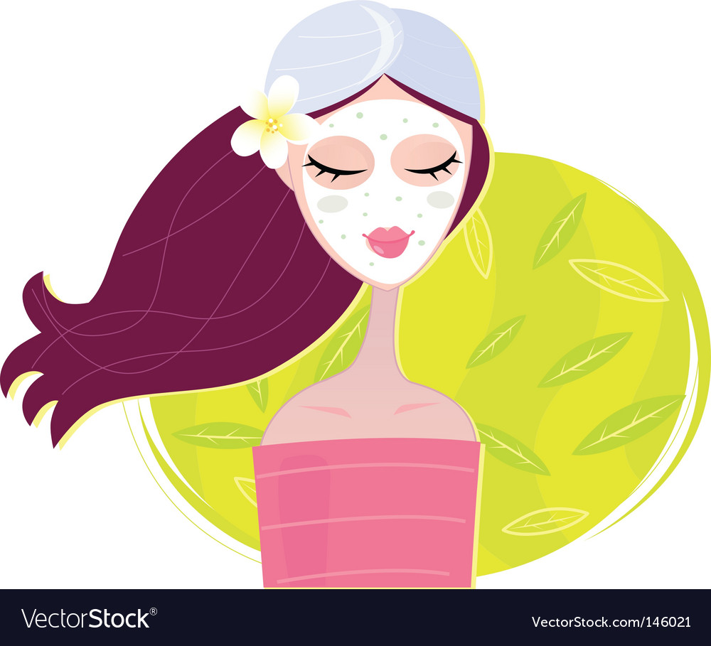 Beauty mash vector | Price: 1 Credit (USD $1)