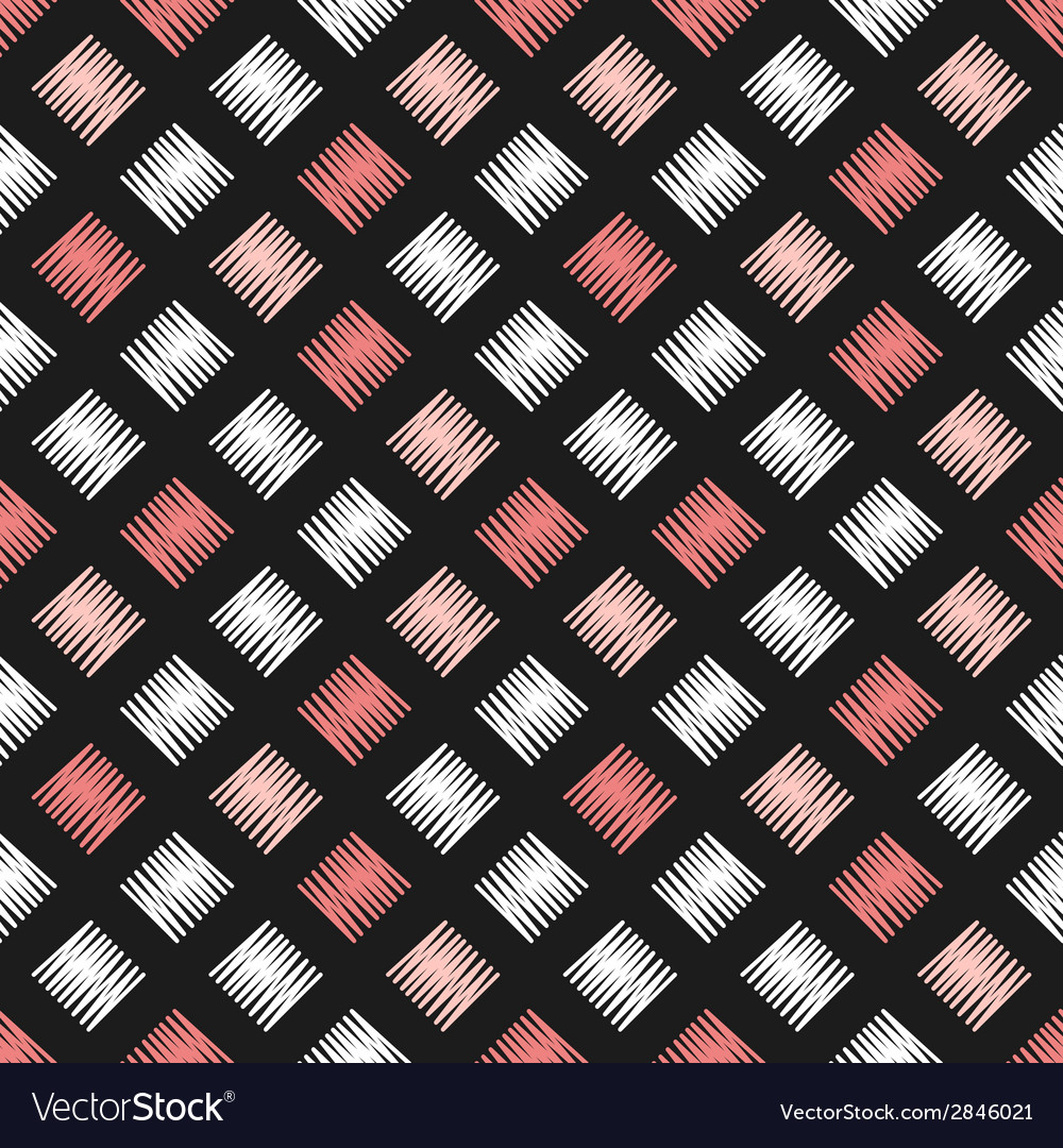 Retro vintage seamless background pattern vector | Price: 1 Credit (USD $1)