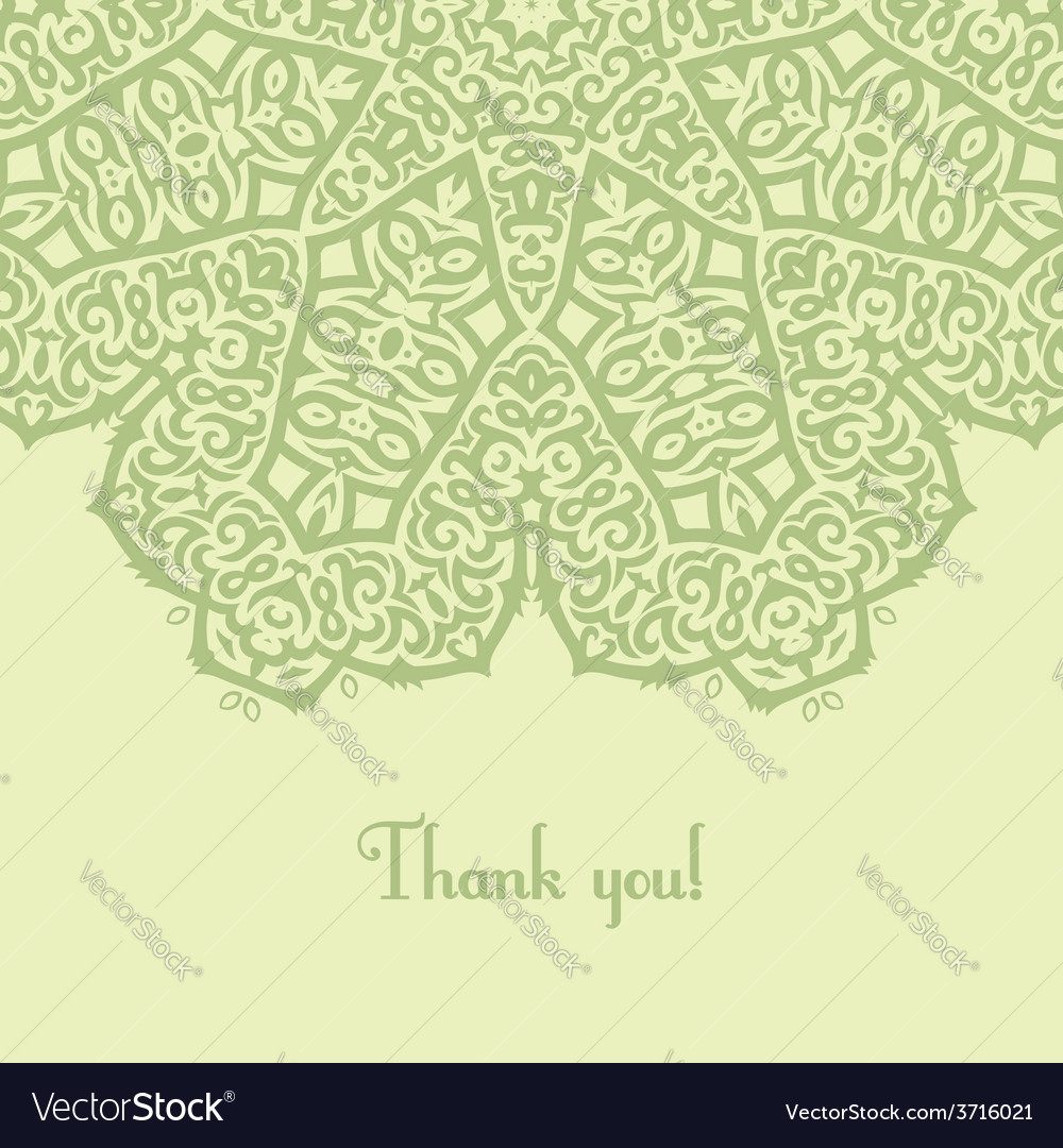 Thank you card vector | Price: 1 Credit (USD $1)