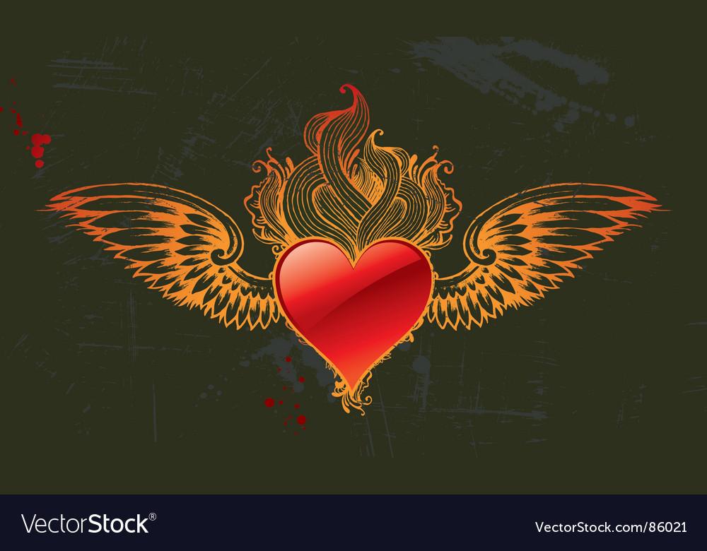 Vintage heart vector   Price: 1 Credit (USD $1)