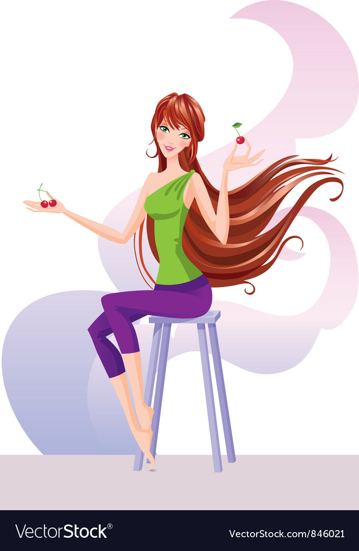 Woman lifestyle vector | Price: 5 Credit (USD $5)