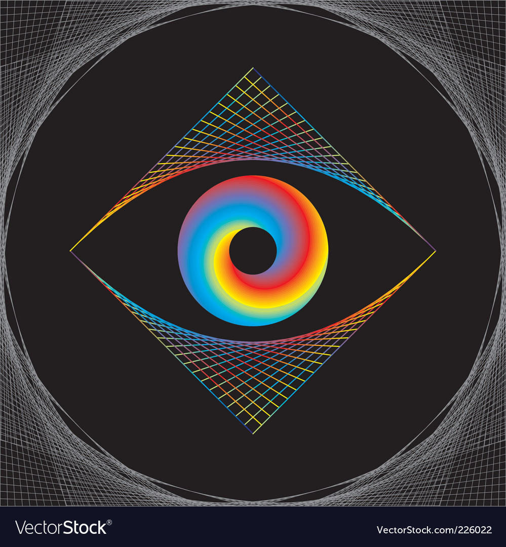 Eye design vector | Price: 1 Credit (USD $1)