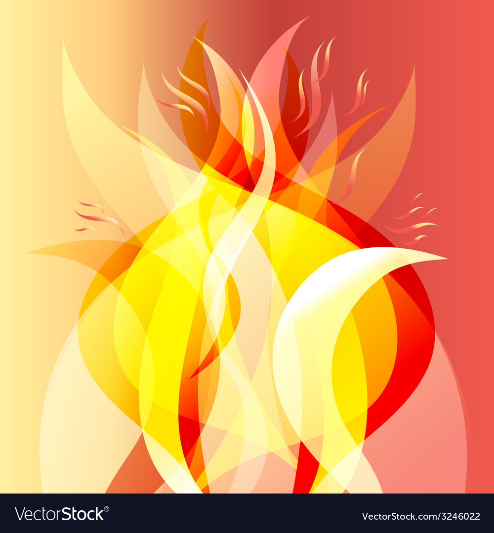 Fiery background vector | Price: 1 Credit (USD $1)