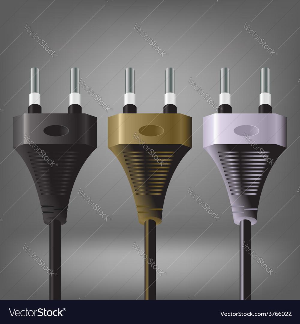 Plugs vector | Price: 1 Credit (USD $1)