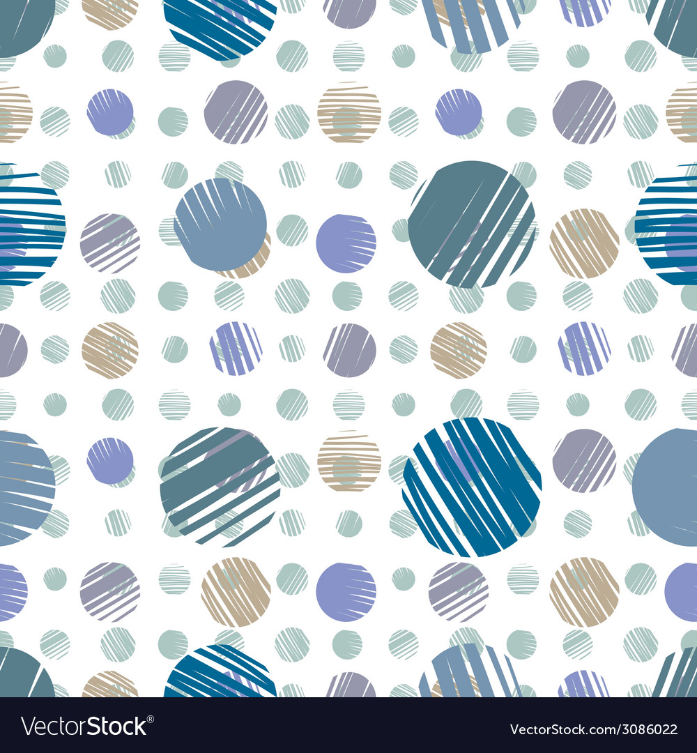 Sketch dots seamless pattern vector | Price: 1 Credit (USD $1)