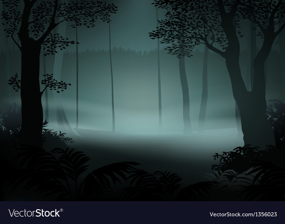 Dark forest vector | Price: 1 Credit (USD $1)
