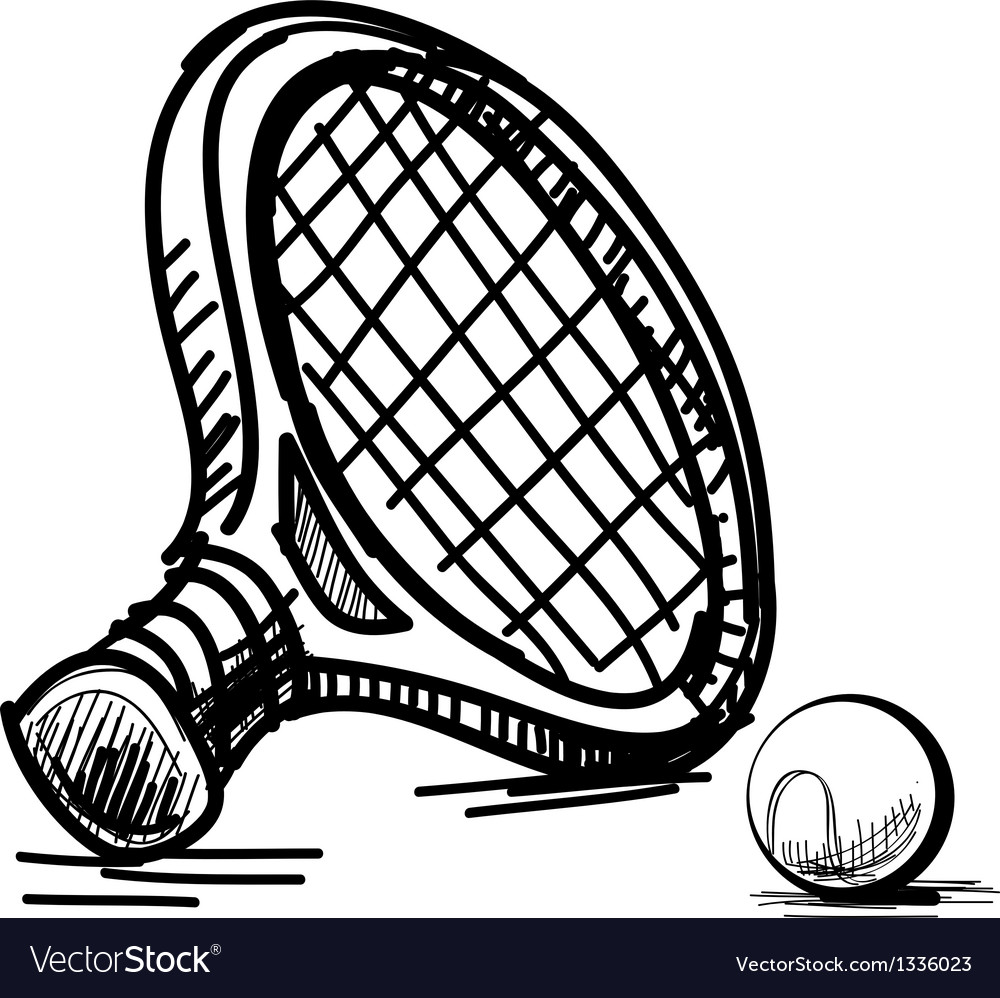 Tennis equipment vector | Price: 1 Credit (USD $1)