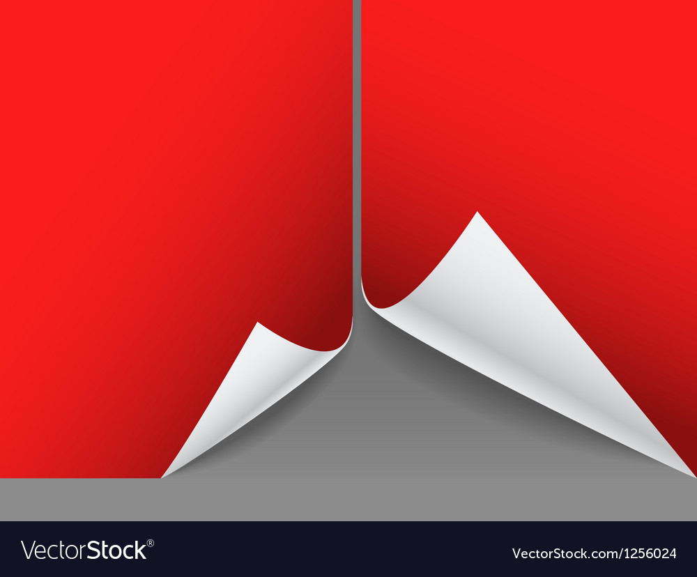 Blank red paper sheets vector | Price: 1 Credit (USD $1)
