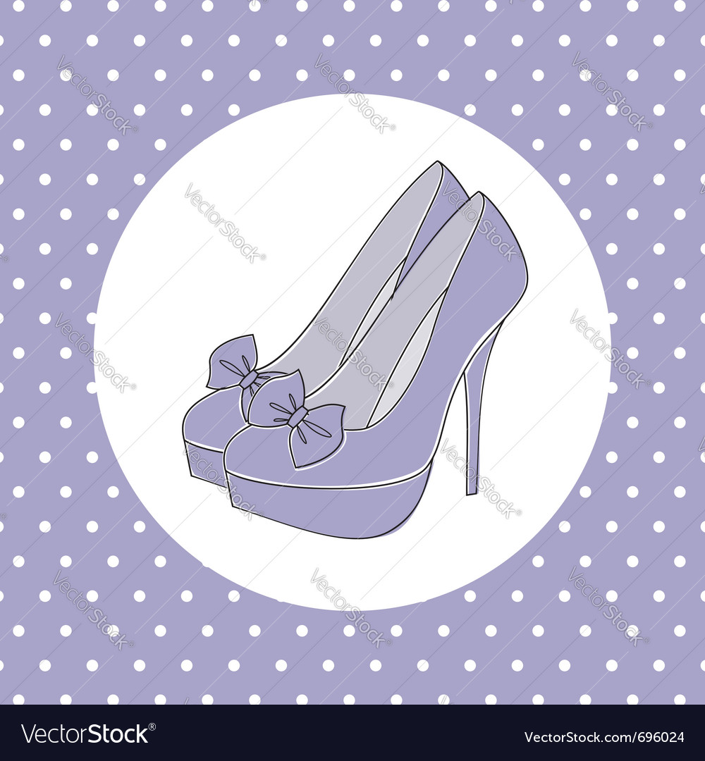 Elegant high heels vector | Price: 1 Credit (USD $1)