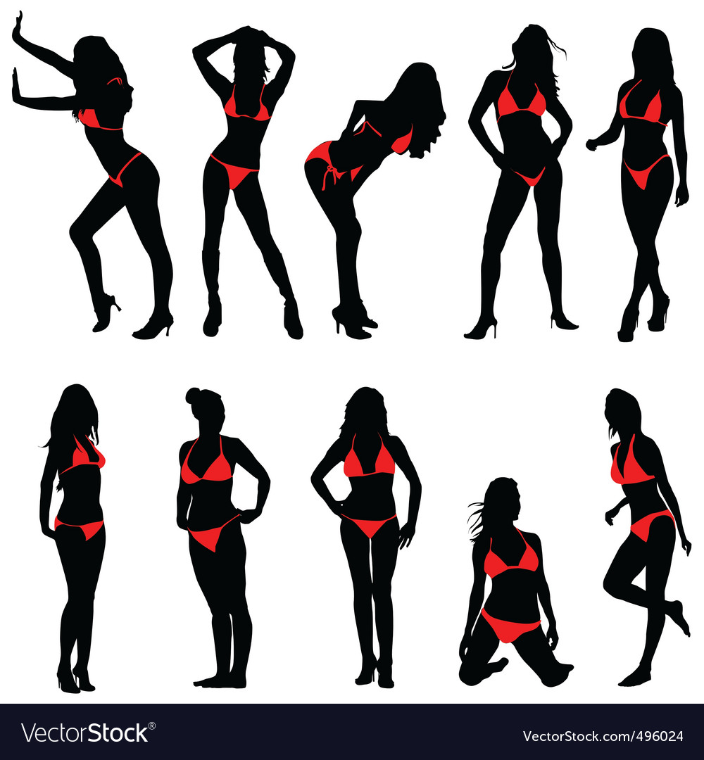 Sexy women vector | Price: 1 Credit (USD $1)