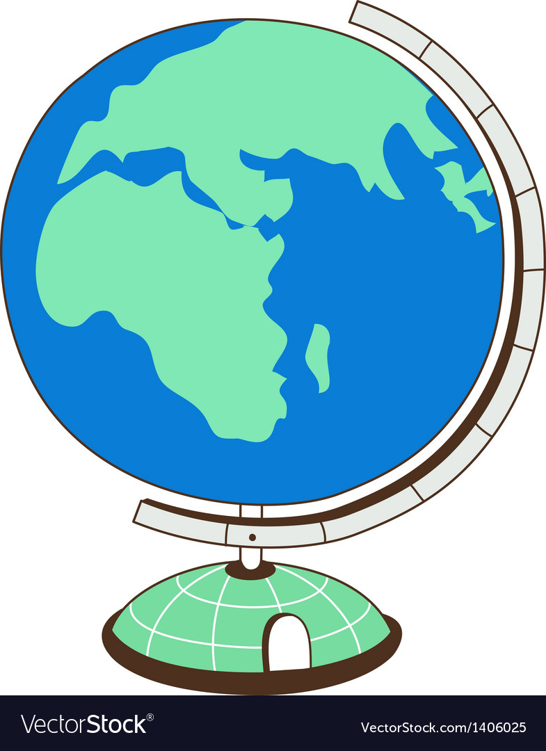 A globe vector | Price: 1 Credit (USD $1)