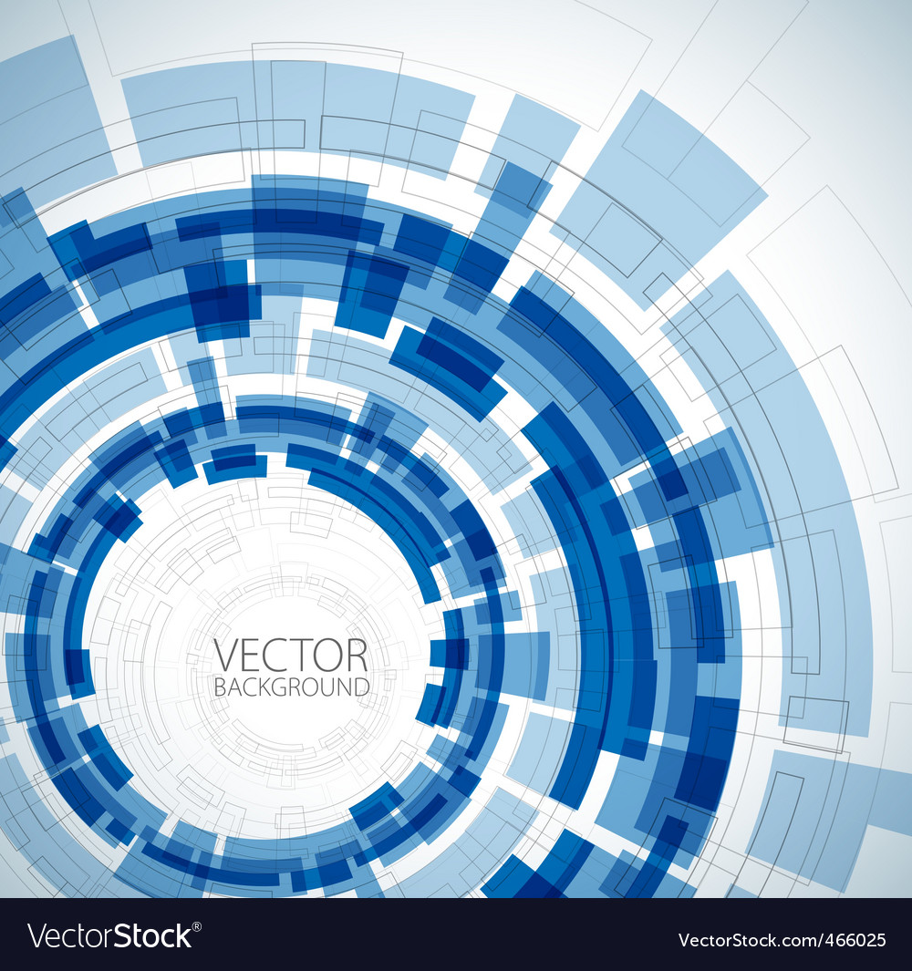 Abstract blue technical background vector | Price: 1 Credit (USD $1)