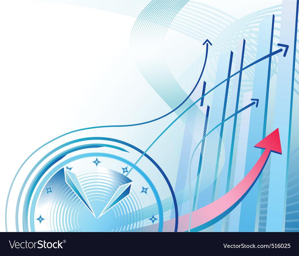Business clock vector | Price: 1 Credit (USD $1)