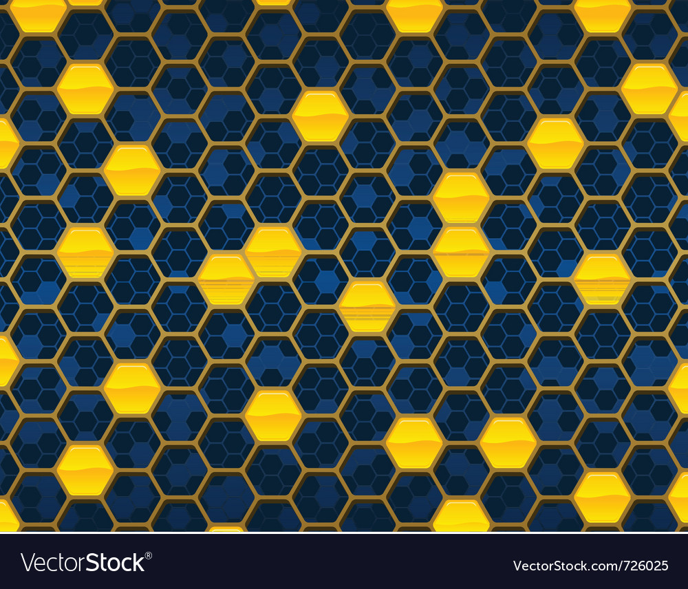 Honeycomb background design vector | Price: 1 Credit (USD $1)