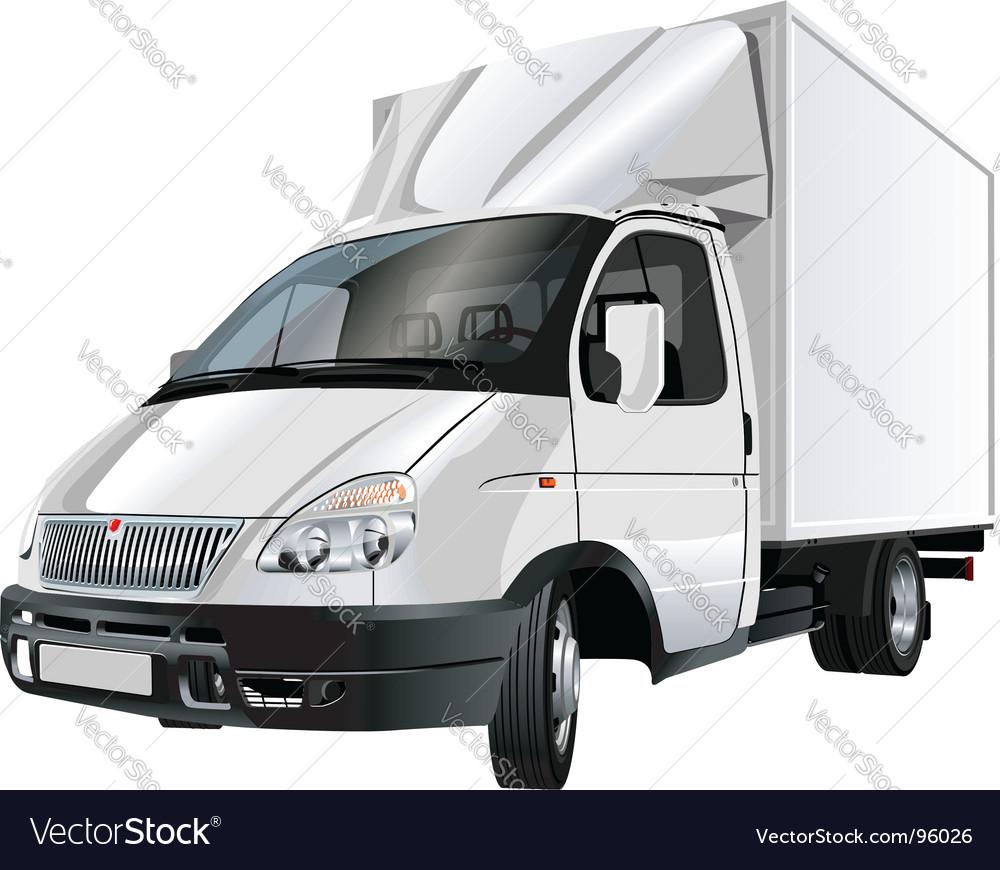 Cargo truck vector   Price: 3 Credit (USD $3)