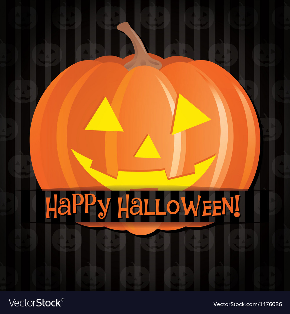 Happy halloween vector | Price: 1 Credit (USD $1)
