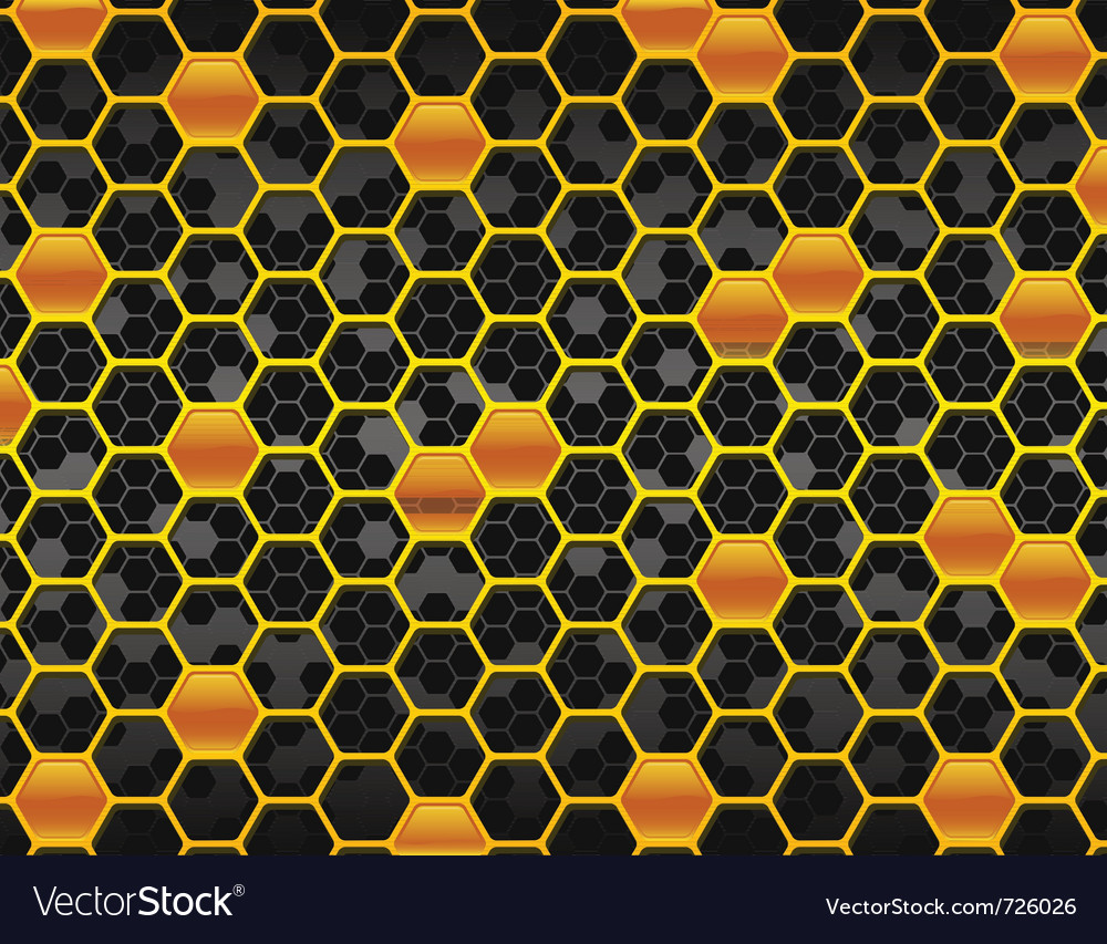 Honeycomb background two vector | Price: 1 Credit (USD $1)