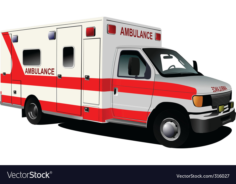 Ambulance vector | Price: 3 Credit (USD $3)