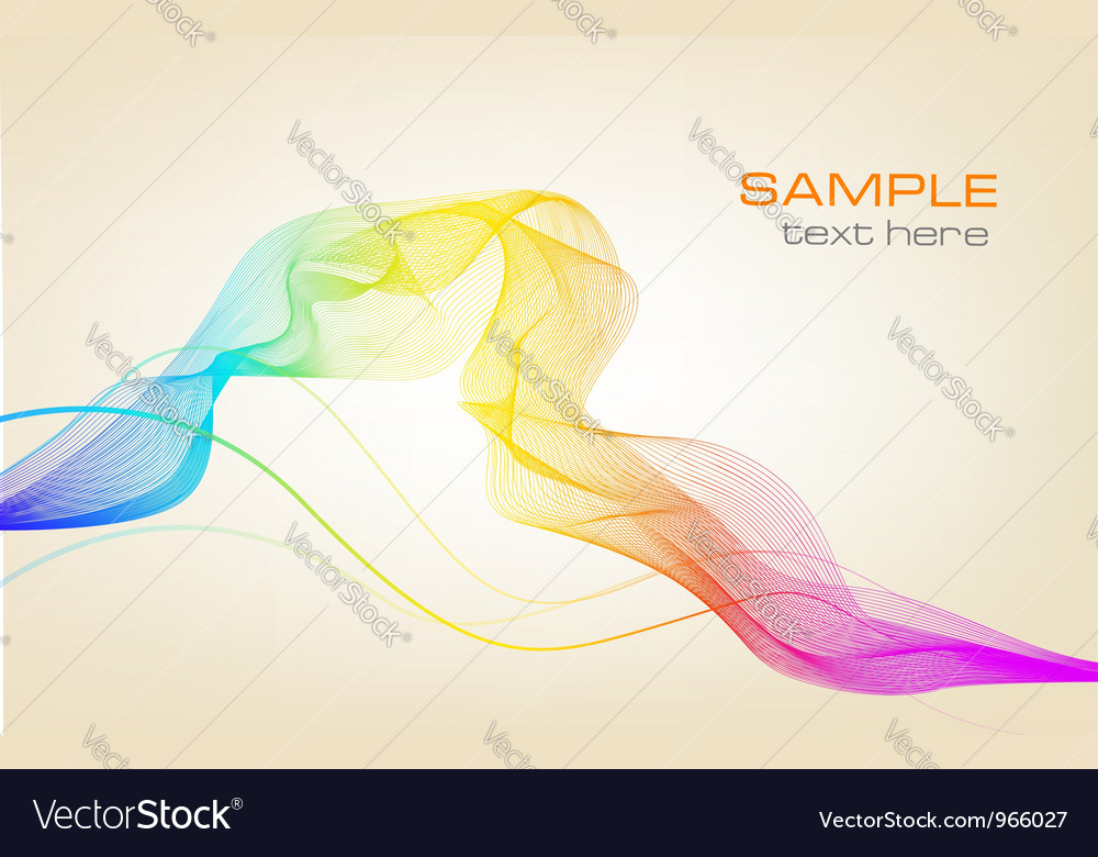 Colorful background with ranbow vector | Price: 1 Credit (USD $1)