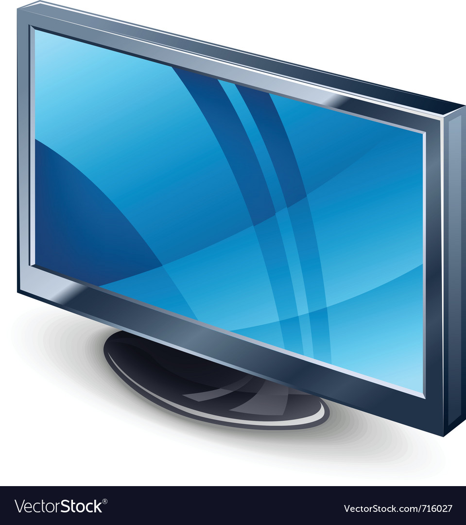 Display tv vector | Price: 3 Credit (USD $3)
