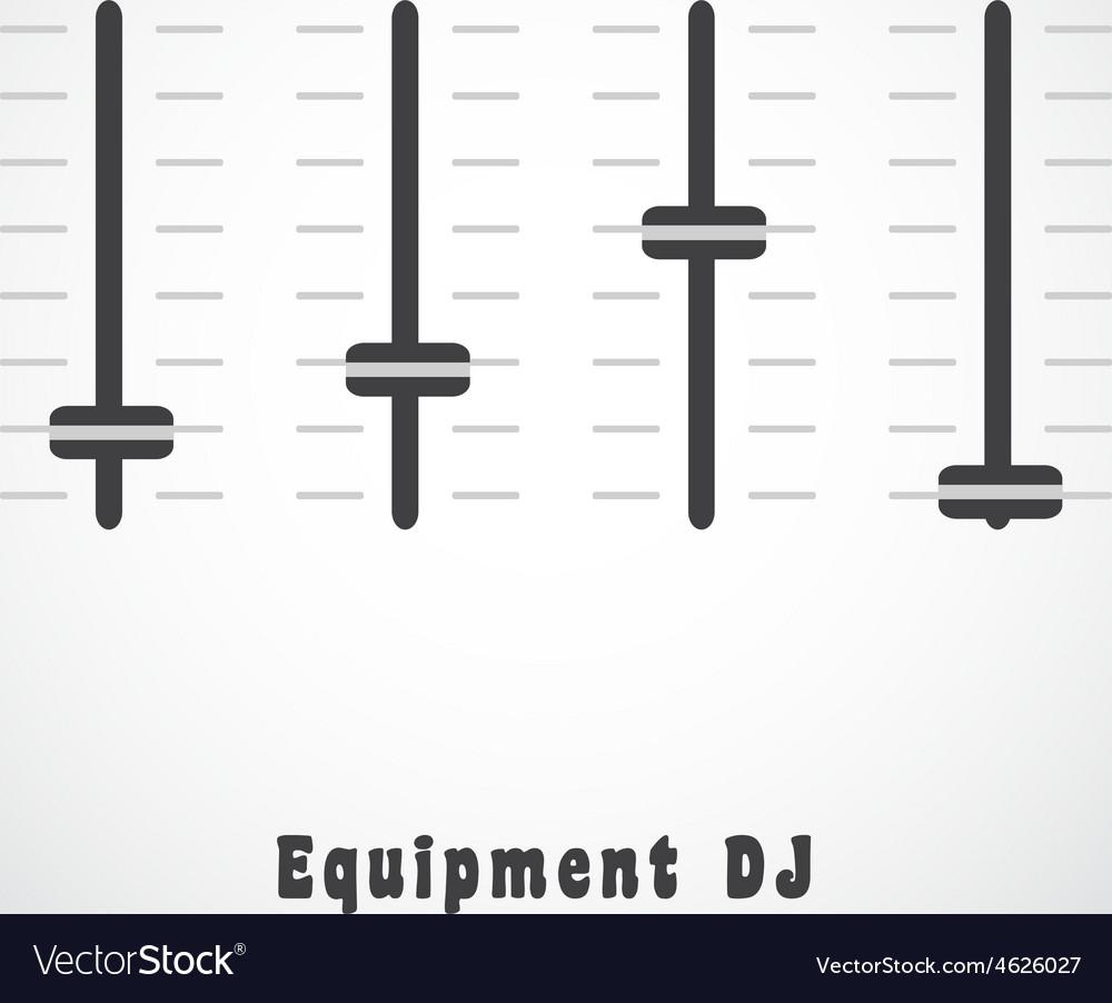 Dj equipment vector | Price: 1 Credit (USD $1)